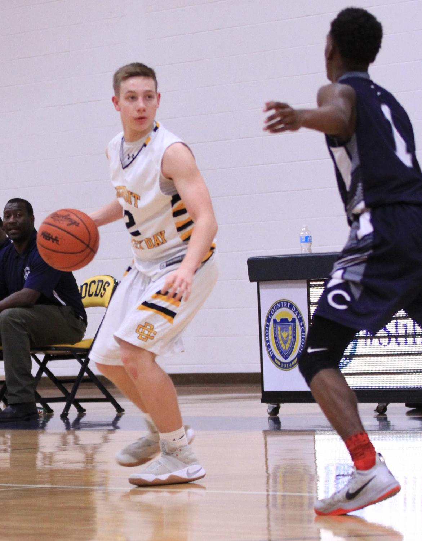 Senior Brendan Terrill looks to lead the Jacket's basketball team to a deep playoff run